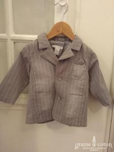 H&M - Veste en coton gris