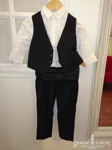 H&M et Obaïdi - Costume 4 pièces noir