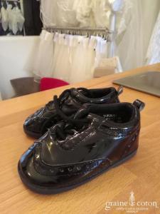 H&M - Chaussures petit garçon noires vernies
