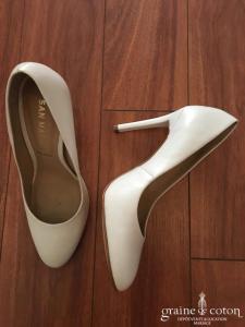 San Marina - Vomère (chaussures) escarpins blancs