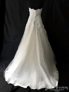 Cymbeline - Bérénice (bustier coeur dos boutonné taille basse princesse fluide)