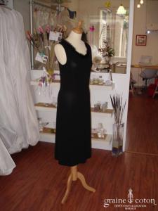 Moschino - Robe fourreau noire (non stocké en boutique, essayage sur demande)