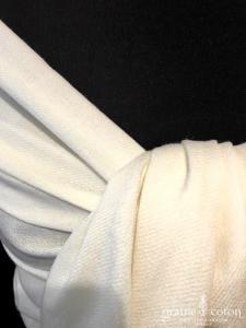 Tie Rack - Paschmina crème en laine