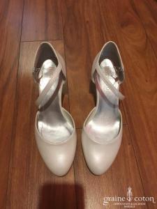 True Love - Escarpins (chaussures) nacrés ivoires