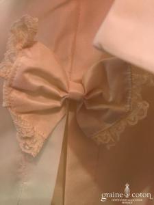 Cymbeline - Alizée (petite fille  taffetas ivoire larges bretelles)
