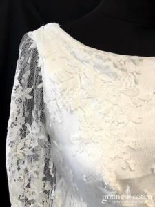 Delphine Manivet pour la Redoute - Abbot Kiney (dentelle fluide crêpe empire manches bretelles bohème dos boutonné)