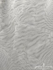 Création - Voile long de 3 mètres en tulle souple ivoire