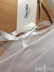 Galvan Sposa - Petit sac / pochette en mikado ivoire clair