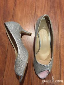 Paradox London - Escarpins ouverts (chaussures) argentés