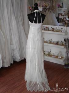 Linea Raffaelli - Robe taille empire ivoire