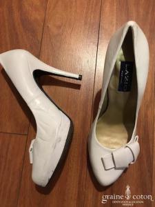 Lazio - Escarpins (chaussures) blancs fermés avec noeud