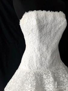 Cymbeline - Grace (courte et longue mi-longue taille basse bustier dentelle tulle volutes princesse)