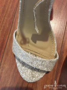 Be Mine - Sandales (chaussures) pailletées doré