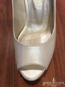Carla - Escarpins (chaussures) ivoire nacré