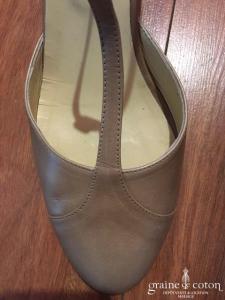 Jonak - Salomés (chaussures) en nubuck nude rosé