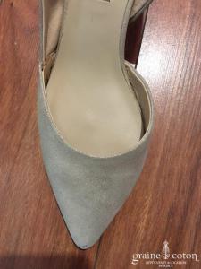 Bocage - Escarpins (chaussures) en cuir doré