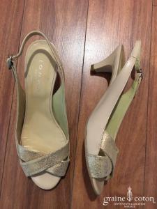 Jonak - Sandales (chaussures) rose or