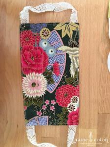Création Graine de coton - Masque fait main en coton à plis triple épaisseur et poche à filtre