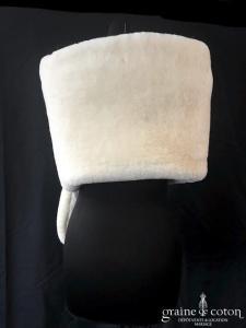 Poirier - Étole en fausse fourrure ivoire
