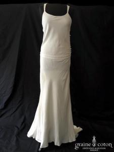Delphine Manivet - Anatole (dos-nu bretelles taille-basse soie coton droite)