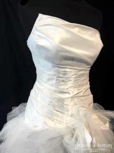 Cymbeline - Alisson / Espera / Fauvette (courte et longue taffetas mouchoirs tulle asymétrique drapé taille-basse laçage)
