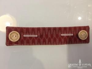 Création Graine de coton - Attache masque fait main en coton pour soulager les oreilles