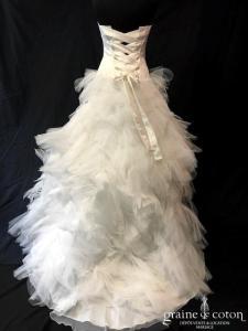 Cymbeline - Gigi / Hilary (courte et longue satin tulle drapé princesse mouchoirs de tulle taille-basse laçage)