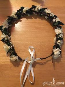 Les couronnes de Victoire - Couronne de vraies fleurs stabilisées