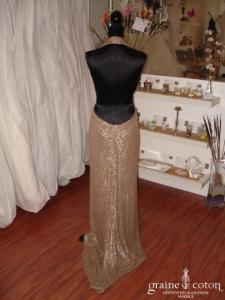 Carmélina créations - Robe Sensuelle (non stocké en boutique, essayage sur demande)