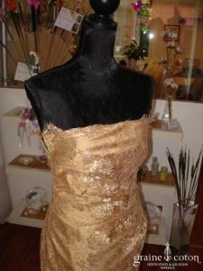 Carmélina créations - Robe Flora (non stocké en boutique, essayage sur demande)