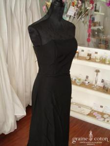 Sinéquanone - Robe de soirée noire (non stocké en boutique, essayage sur demande)