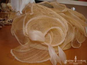 Les 3 chapeaux - Chapeau en sisal crème