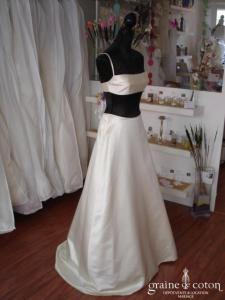 Création - Robe de mariée maillot de bain (satin)