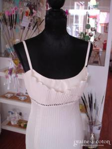 Suzanne Ermann - Robe plissée