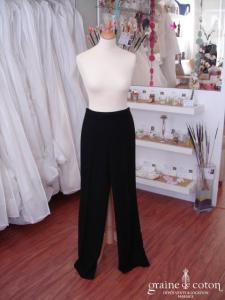 Zara - Pantalon à pli noir (non stocké en boutique, essayage sur demande)
