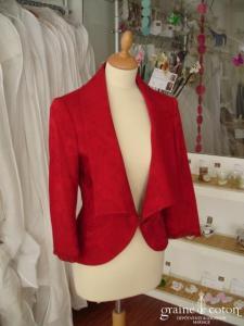 Lolita Lempicka - Veste rouge foncé (non stocké en boutique, essayage sur demande)