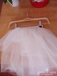 Graine de coton - Jupon en tulle pour robe demoiselle d'honneur