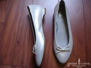 Carla Selvone - Ballerines (chaussures) nacrées ivoire