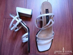 Nine West - Sandales (chaussures) blanches