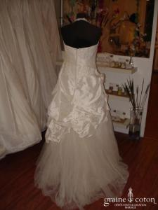 Sarah Wedding - Zebulon (taffetas dentelle tulle)